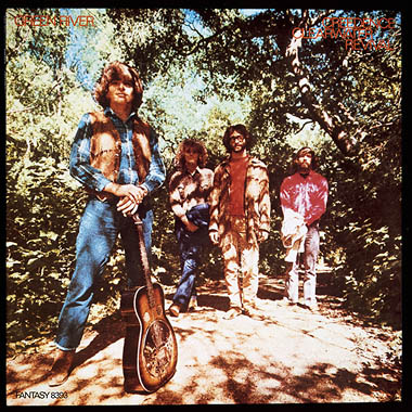 Creedence Clearwater Revival's Green River LP cover